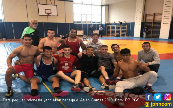 Asian Games 2018: Pegulat Indonesia Puasa 17 Jam - JPNN.COM