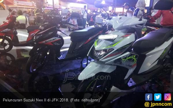 Ini Resep Suzuki Nex II Ganggu Dominasi Honda Beat - JPNN.com
