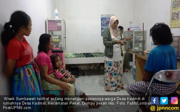 Wiwik Sumbawati, Sosok Pahlawan bagi Warga Lereng Tambora - JPNN.COM