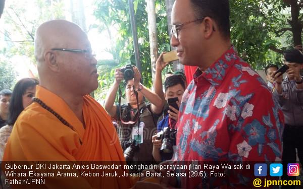 Ketika Anies Baswedan Merasa Terhormat saat Ditodong - JPNN.com