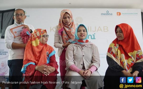 Dusdusan Rilis Produk Hijab Noorani yang Lebih Trendi - JPNN.com