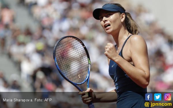 Sharapova Temui Pliskova di Roland Garros - JPNN.com
