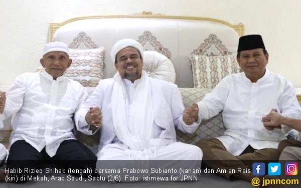 Survei Capres: Langsung Menyodok, Habib Rizieq Berpotensi Jadi Lawan Prabowo di 2024 - JPNN.com