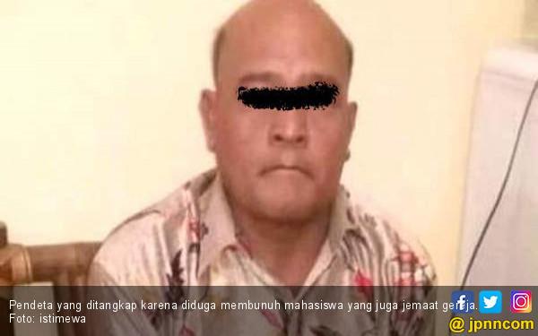 Kronologis Oknum Pendeta Bunuh Mahasiswi di Gereja - JPNN.COM