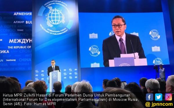 Inilah Seruan Ketua MPR di Forum Parlemen Dunia - JPNN.COM