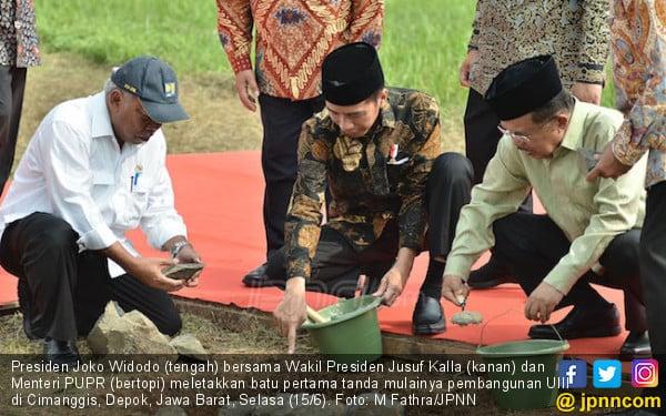 8 Bulan Lagi, Kampus Universitas Islam Internasional Indonesia Beroperasi - JPNN.com