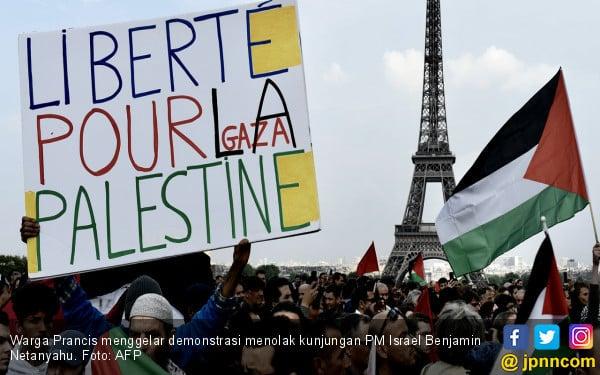 Warga Prancis Tolak Kunjungan PM Israel - JPNN.COM