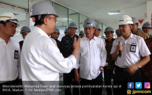 Nasir: Madiun jadi Pusat Pengembangan Riset Kereta Api - JPNN.COM