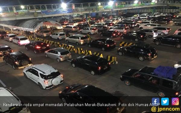 Sudah 556.727 Pemudik Ferry Menyeberang ke Sumatera - JPNN.com
