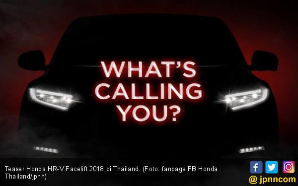 Kenali Honda HR-V Facelift 2018 yang Meluncur Bulan Ini - JPNN.com