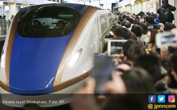 Digarap Jepang, Proyek Kereta Cepat India Malah Mandek - JPNN.com