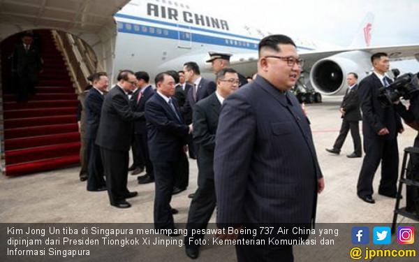 Jaga Gengsi, Kim Jong Un Pinjam Pesawat Teman - JPNN.COM