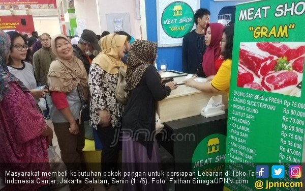 Omzet Toko Tani Indonesia di Jakarta Sudah Rp 2,5 Miliar - JPNN.COM