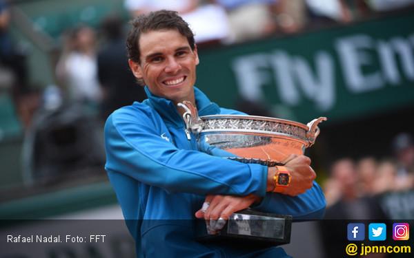 Rafael Nadal Ogah Pikirkan Rekor Roger Federer - JPNN.COM