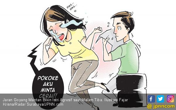 Jaran Goyang Mantan Bikin Istri Agresif saat Malam Tiba - JPNN.COM