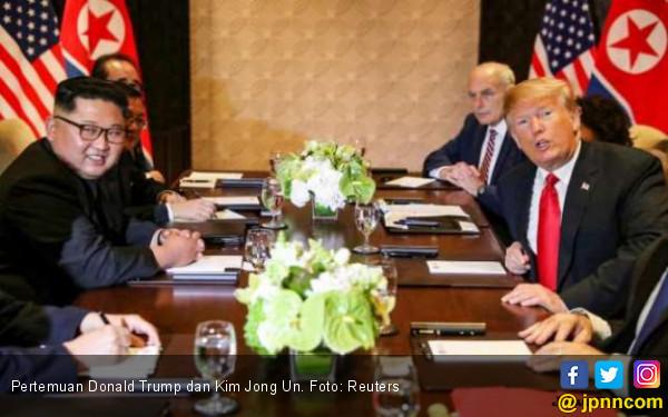 Kim Jong Un Sehat Walafiat, Donald Trump Berkomentar di Twitter - JPNN.com