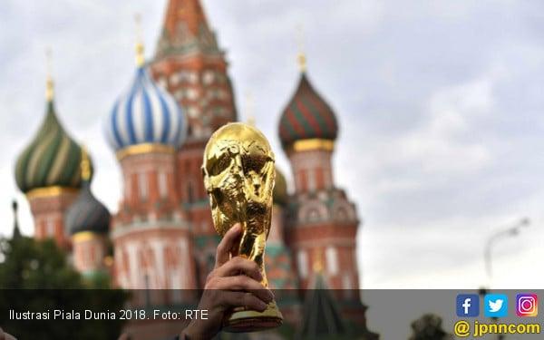 Ilustrasi Piala Dunia 2018. Foto: RTE