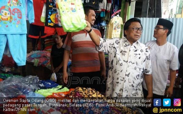 OSO Cerita, Dulu jadi Penjual Jam Tangan di Pasar Ini - JPNN.COM
