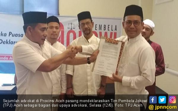 Tim Pembela Jokowi Aceh Dorong Aparat Berantas Hoaks - JPNN.COM