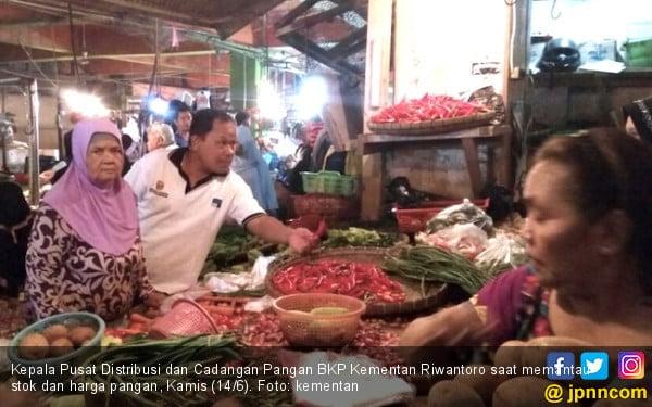 Sehari Jelang Lebaran, Stok dan Harga Pangan Stabil - JPNN.COM