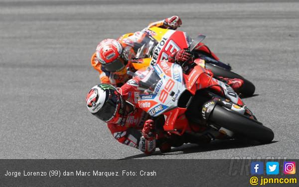 Ducati dan Yamaha vs Rekor Marquez di MotoGP Jerman - JPNN.COM