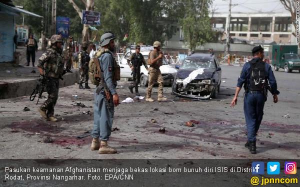Afghanistan Makin Mencekam, Bom Besar Meledak Dekat Rumah Dubes AS - JPNN.com
