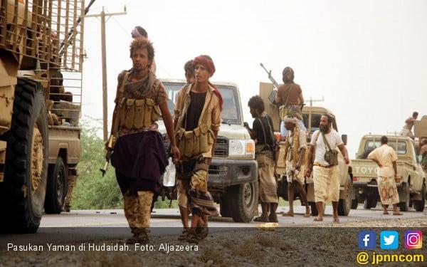 Teganya, Militan Yaman Jarah Bantuan untuk Korban Kelaparan - JPNN.COM