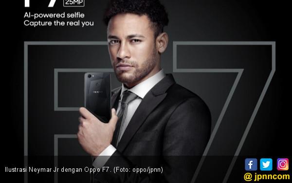 Hadiah dari Neymar Jr untuk Konsumen Setia Oppo Indonesia - JPNN.COM