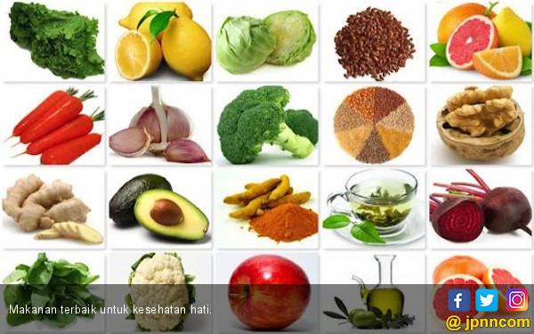 8 Makanan Terbaik untuk Kesehatan Hati - JPNN.COM