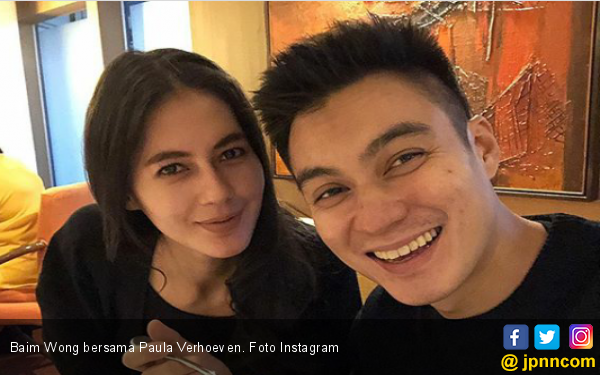 Istri Dikabarkan Hamil, Begini Respons Baim Wong - JPNN.com