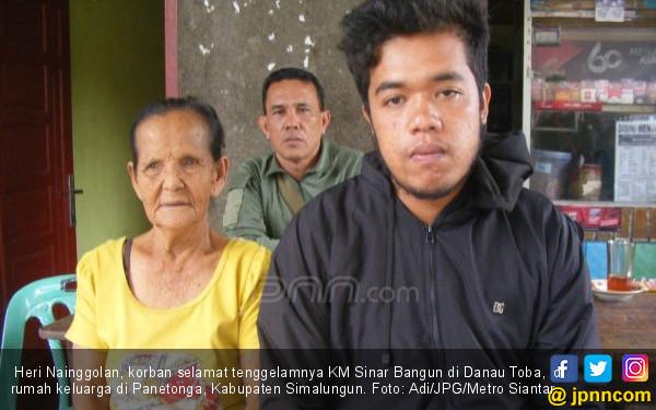Korban Selamat Cerita Detik-detik KM Sinar Bangun Tenggelam - JPNN.COM