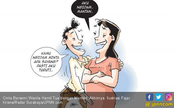 Cinta Bersemi Wanita Hamil Tua dengan Mantan, Akhirnya - JPNN.COM