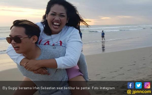 Irfan Sbaztian Tegaskan tak Pernah Pacaran dengan Elly Sugigi - JPNN.com