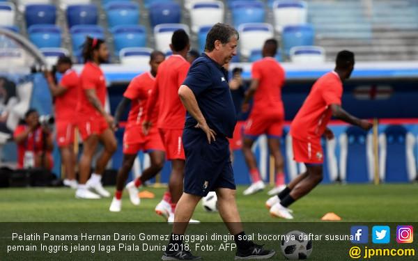 Piala Dunia 2018: Line Up Inggris Bocor, Pelatih Panama ...