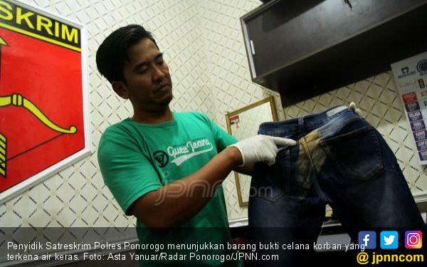 Terungkap, Pelaku Penyiraman Air Keras Bernama Imam Hidayat - JPNN.com