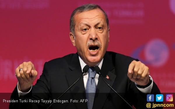 Rakyat Palestina Kembali Dizalimi, Erdogan Langsung Telepon Presiden Negara Ini