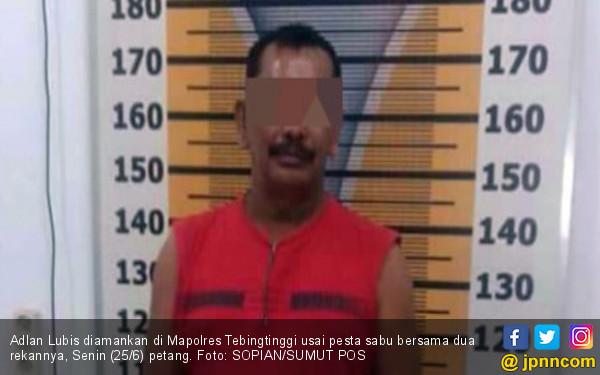 Anggota DPRD dari Fraksi Gerindra Digerebek saat Pesta Sabu - JPNN.com
