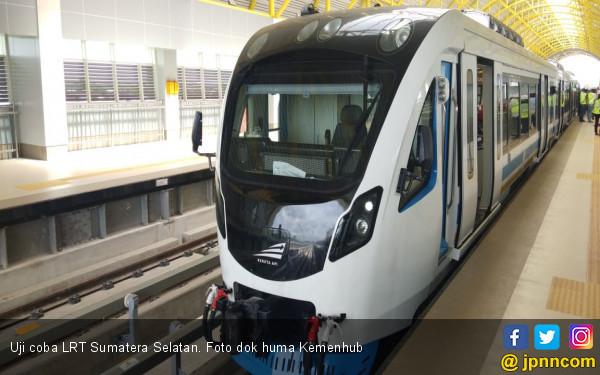 LRT Sumsel Mogok Lagi, ini Dugaan Awal Penyebabnya - JPNN.COM