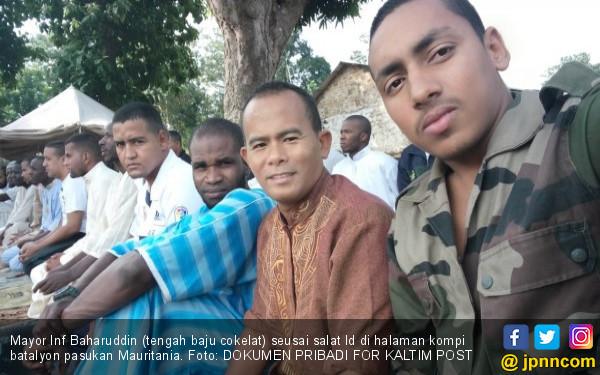 Cerita Mayor Baharuddin Bertugas di Afrika Tengah - JPNN.COM