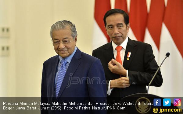 Berbelasungkawa untuk Lombok Utara, Mahathir Hubungi Jokowi - JPNN.COM