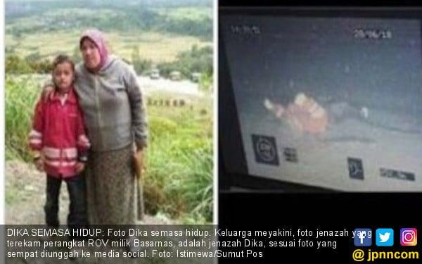 Jenazah Berjaket Merah di Dasar Danau Toba Itu Adalah Dika - JPNN.com