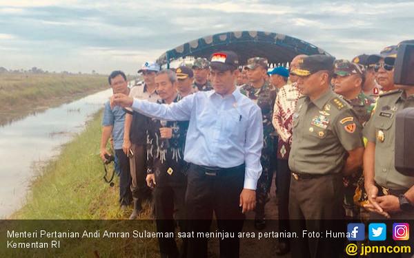 Menteri Amran Imbau Petani Ikut Asuransi Tani - JPNN.COM