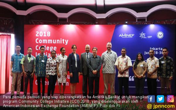 Freeport Indonesia Berangkatkan Pemuda-Pemudi Papua ke AS - JPNN.COM