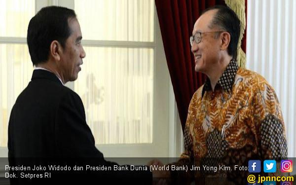 Jokowi Terima Presiden Bank Dunia di Istana Bogor - JPNN.com