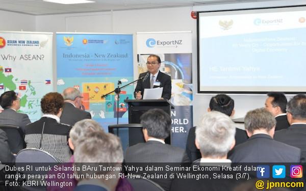 Ikhtiar Tantowi Seriusi Potensi Ekonomi Kreatif Negeri Kiwi - JPNN.COM