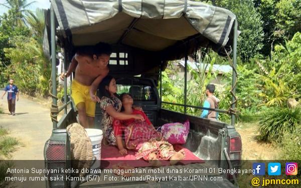 Mengharukan, Supriyani Melahirkan di Mobil Patroli Koramil - JPNN.COM