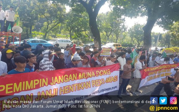Umat Islam Revolusioner Desak Anies Bongkar Pulau Reklamasi - JPNN.COM
