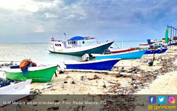 Hilang Dua Malam, Kapal Ternyata Terdampar di Sumenep - JPNN.COM