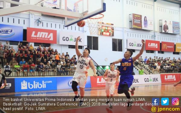 Unpri Menangi Laga Perdana LIMA Basketball Go-Jek SCM 2018 - JPNN.COM