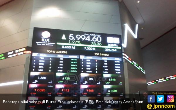 Transaksi Saham di Lantai Bursa Semakin Cepat - JPNN.COM